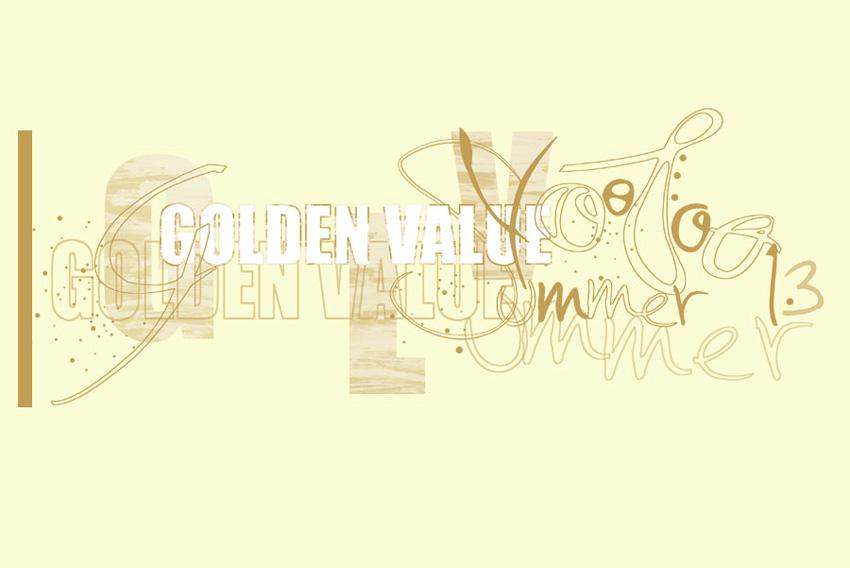 Création sérigraphie golden value
