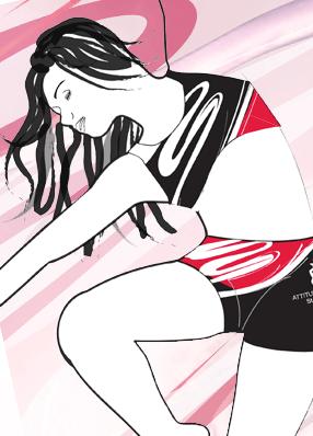 Dessin tenue de gymnastique - modèle&motif