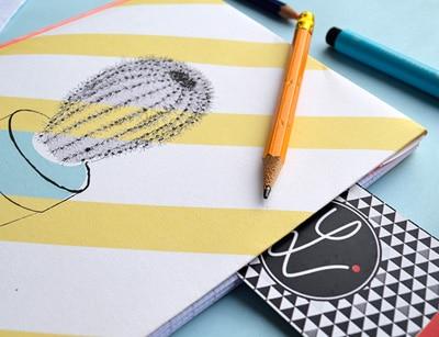 DIY, cahier personnalisé